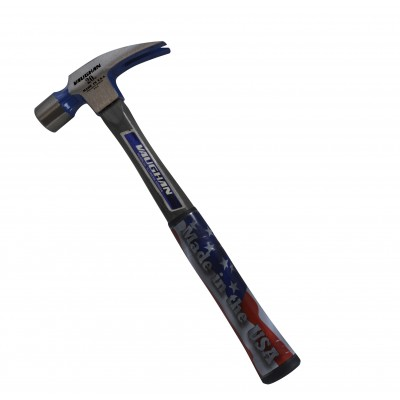 Vaughan FS999 20 oz. Fiberglass Rip Hammer, Smooth Face