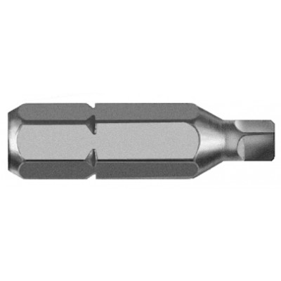Irwin #3 Square Recess Bit 1 By 1/4 Inch 3512072C