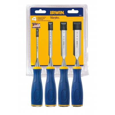 IRWIN 4 pc. Chisel set 1819361