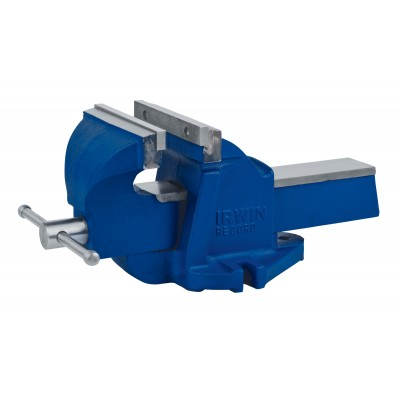 "IRWIN 4"" Heavy Duty Workshop Vise 226304ZR"