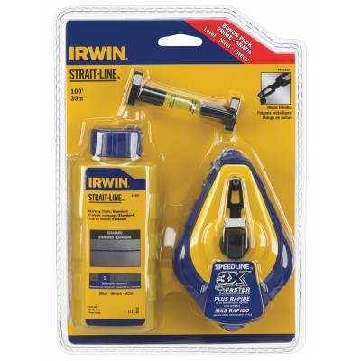 Irwin Chalk & Reel Combo w/ Level 64494LP