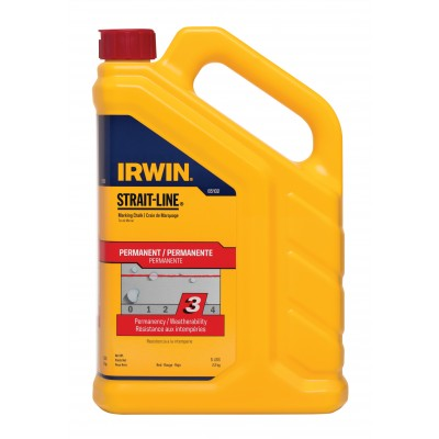 Irwin CHALK 5LB RED 65102