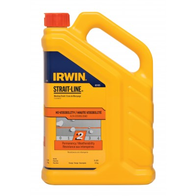 Irwin CHALK 5LB FLUORESCENT ORANGE 65105