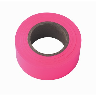 Irwin TAPE 150' FLORESCENT PINK FLAGGING 65603