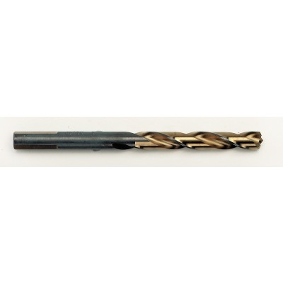 "Irwin 3015008 1/8"" x 2-3/4""  Turbomax Titanium Jobber HSS Drill Bit, Wrench Rating: Superior"