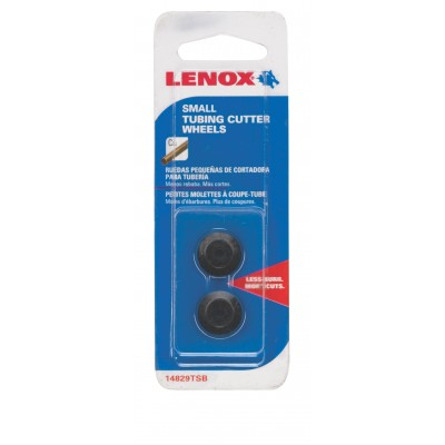 Lenox Tools Replacement Wheel for Tubing Cutters, SMALL COPPER CUTTING WHEELS 2-Pack 14829TSB