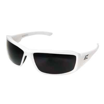 Edge Eye Wear - Brazeau Torque White/Pol Smoke TXB246